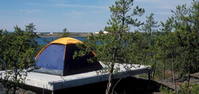 Walk in Tent Site