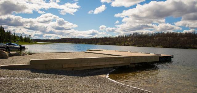 Reid Lake Dock